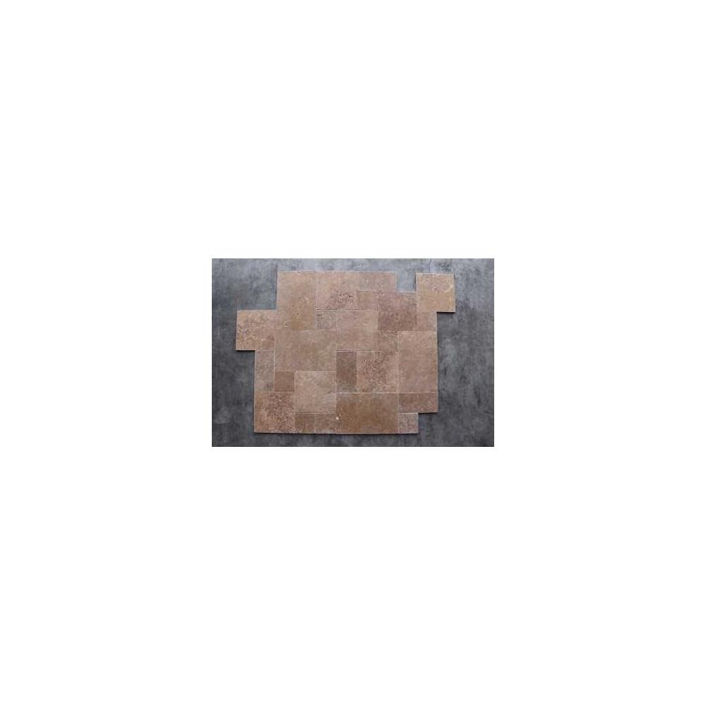 Medium Travertin Tumbled 1x4,8x4,8