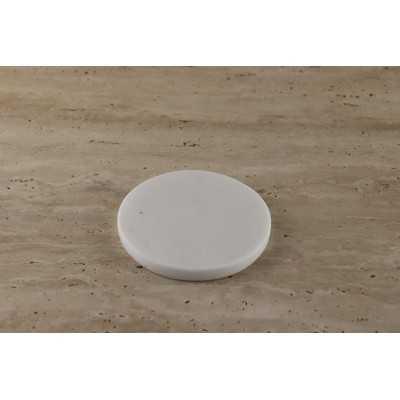 zwart marmer Black marble tumbled 10x10