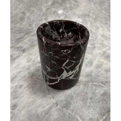 Black marble tumbled 15x15