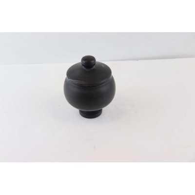 Black marble tumbled 20x20