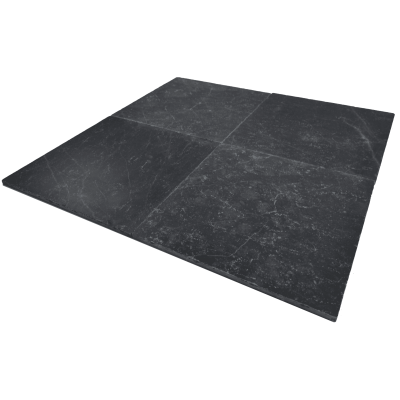 Black marble Honed 40,6x40,6