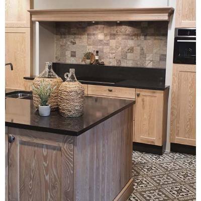 Silver travertin Mozaiek Split Face