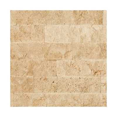 Light travertin Mozaiek Split Face 1,2x4,8x10