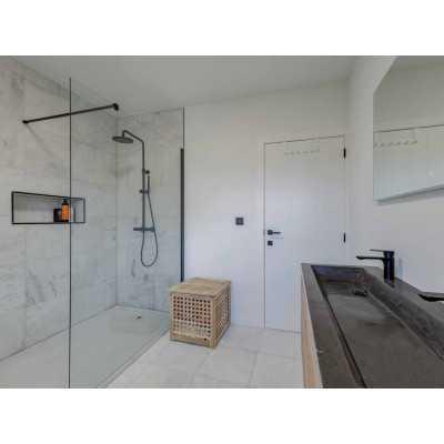 Light travertin Mozaiek Split Face 1,2x4,8x15 zonder net